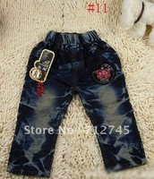 Wholesale - 4pcs/lot Boys Jeans jean Children pants trousers kids cowboy pants jeans boy Children#NO.12806