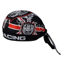 Cycling Headband Rock Racing blue 2012 Cap cycle pirates hood Bike bicycle sweat