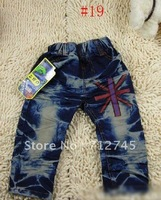 Free Shipping 2012 Hot Design Kids Jeans Baby Clothes Boys Trousers Boys Jeans #NO.12830