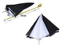 "New 33"" Black Silver White Photo Studio Interchangeable Umbrella Softbox"