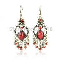 Retro royal style fine high quality earrings new design earrings vintage Crystal earrings free shipping YF-E1034