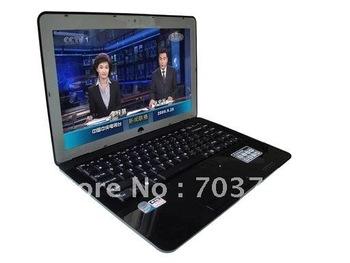 14.1 inch Ultrathin Windows 7/XP Laptop+2GB RAM+320GB HDD+Intel Atom D425 1.80GHz+Support External DVD-RW Notebook PC