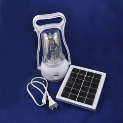 Freeshipping,solar camping light,LED rechargeable garden lighting,solar panel 2W,35 leds,Retail,Wholesale(China (Mainland))