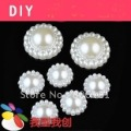 100pcs 12mm pearl Cabochon - makes GROOVY rings, bracelets, pendants, cabochon settings, jewelry and craft art