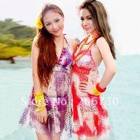 (10pcs/lot)Free Shipping 2012 Crazy Hot Hyun Color Steel Prop Boxer Bikini Suit,Ladies'/Women Bikini Set,Sexy Fashion Bikini Set