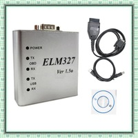 10 pcs the newest version ELM327 metal or ELM327 usb metal software v1.5 BEST price BEST after-service!