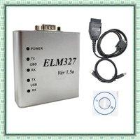 10 pcs the newest version ELM327 metal or ELM327 usb metal software v1.5 BEST price BEST after-service!