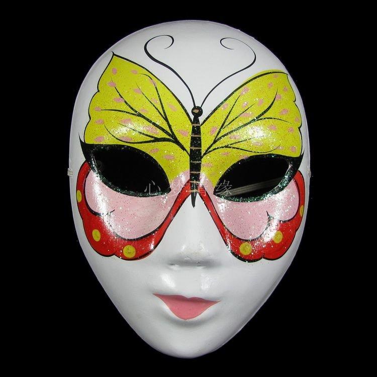 Как сделать маску на все лицо из картона