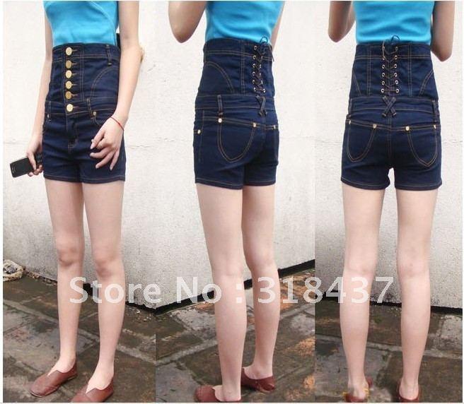 Cheap high waisted jeans shorts
