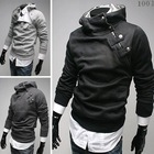 Free Shipping 2014 NEW Hot High Collar Men's Jackets ,Men's Swea