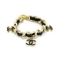 Min order $6, SW1980 Free shipping,New fashion black alloy hand chain bracelets