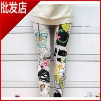 DDK-002 HOT ! NEW !Best SELLING Cotton Handwriting Lady JEANS Pantyhose,Eco-Friendly,Breathable,Soft Leggings Women(130G)