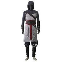 Free Shipping Assassin's Creed Cosplay Costume  XXS-4XL