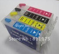 10sets/lot T0711-T0714 71 refillable ink cartridge for epson DX7400 DX7450 DX8000 DX8450 DX8000 DX9400F Printers
