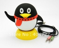 Multi-Functional Smart QQ Penguin Webcam + Microphone + Speaker combo Free Shipping