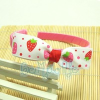 2012 NEW 5PCS./lot wholesale double layers sweet lovely cute baby girls hair band