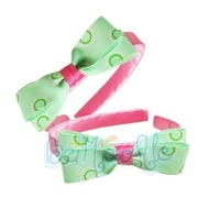 Wholesale 2012 5PCS./lot fresh color sweet lovely beautiful baby girls hair band