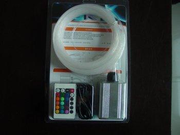 100pcs 0.75mm*2m+50pcs 1.0mm*2m+20pcs 1.5mm*2m+10pcs 2.0mm*2m PMMA optical fiber kit