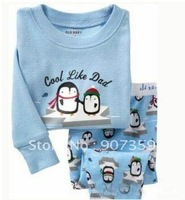6sets  baby Pyjamas suit outfit boy garments jumpsuits pants t-shirt +trousers baby long sleeve pajamas/sleepwear/clothing set