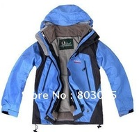 High Quality Children Outdoor Double Layer Waterproof Ski Jacket PIZEX