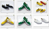 2012 free shipping women and men of high / low to help the brand canvas shoes. Recreational sports canvas shoes. Size :35-45