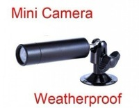 Free shipping 10pcs Mini Bullet Security CCTV Waterproof Surveillance Outdoor Camera