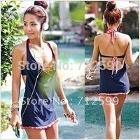 Free Shipping Wholesale Price Women Sexy Swimsuit Swimwear Bathing Suit 7002