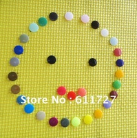 (38 colors) 1000 sets KAM Brand T-3 16 plastic Snap Button, fastener buttons MIXed 36 Colors  50sets/bag