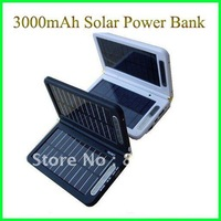 Зарядное устройство Portable Solar charger Power Bank 4000mAh output 5V & 9V, Solar mobile charger For iphone ipod MP3/MP4/MP5/PSP