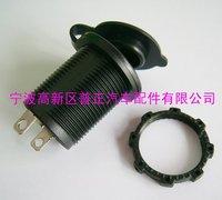 10PCS-12v Waterproof Accessory Cigarette Power Socket