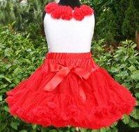 free shipping,2014 new style,Pettiskirts tutu Set(TOP+skirt),Girls PettiSkirt+Tops