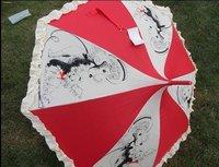 Dog fashion Princess long umbrella sunshade umbrella umbrella Japan's creative