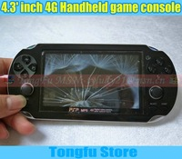 Free Shipping,4.3 inch Handheld game console mp5,mp3,camera,ebook reader,2000 games,tv-out