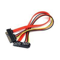 Free shipping 10pcs/lot 22PIN 15+7PIN SERIAL ATA SATA POWER M/F CABLE #293 drop shipping