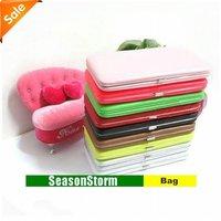 [EMS Free Shipping] Wholesale Fashion Colorful Korean Style Ladies PU Purse / Card Bag (SG-42E)