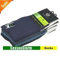[EMS Free Shipping] Wholesale Mens Summer Bamboo Fiber Cotton Thin Socks Multi Color (SM-11E)