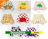 [EMS Free Shipping] Wholesale Sweet Kids Fruit Print Tights Shorts / Infant PP Short Pants (SY-18E)