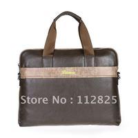 2012 Free Shipping Attractive Genuine Leather Man Brifecase/Man Shoulder Bag-PFL0021