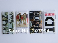 NEW ! Wholesale 10*4 pcs/lot  One Direction 1D hard Case Cover for iPod Touch 4th free shipping-0D04