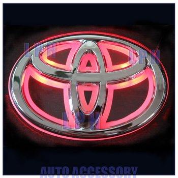option one,car logo light for TOYOTA 07 REIZ,car badge light,auto led light,auto emblem led lamp