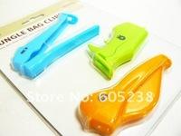 Wholesale 100sets/lot EMS Free shipping Jungle Bag Clips (Rhino  Crocodile Pelican )