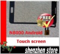 N8000 New Touch Screen Digitizer/Replacement for Star N8000 dual sim ANDROID Phone Free SHip AIRMAIL HK