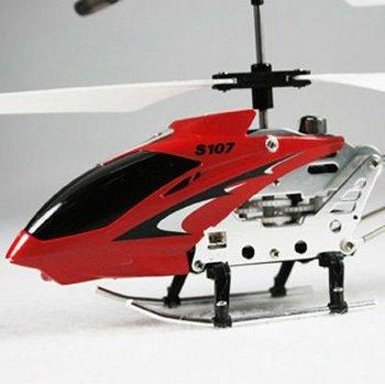 3CH Syma MINI USB RC RTF Helicopter METAL GYRO S107 1