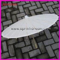 42cm in Radius ! Chinese white paper umbrella, wedding umbrella, craft paper parasol