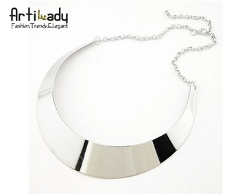 Artilady  2013 new desgin style collar necklaces choker  silver necklaces  fashion mad  necklaces jewerly