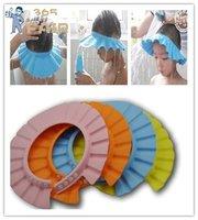 shampoo shower bath cap,baby shower cap,baby hair wash hat 3pcs/lot (mix color)