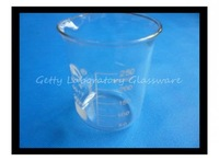 250 mL Lab Glass Beaker, with wide mouth, pyrex glass material