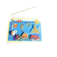 Children's educational toys marine animals fishing puzzle#2069