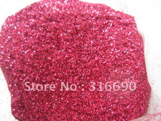 Free Shipping Rose-pink Nail Glitter Powder/Glitter Dust/shining glitter powder for Nail Art/DIY decoration 50g/bag(China (Mainland))