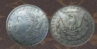 1901 silver morgan dollar